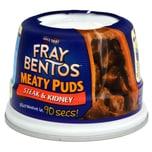 Fray Bentos Steak & Kidney Pudding 200g - Mürbeteig-Pastete mit Rindfleisch-Schweineniere-Füllung