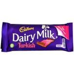 Cadbury Dairy Milk Turkish 47g mit Lokum-Füllung