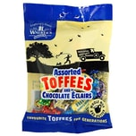 Walkers Nonsuch Assorted Toffees and Eclairs - gemischte Toffees und Karamellbonbons
