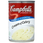 Campbells Cream of Celery Condensed Soup - gebundene Selleriecremesuppe
