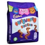 Cadbury Curlywurly Squirlies 95g Karamell mit Milchschokoladenüberzug 95g