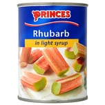 Princes Rhubarb in Light Syrup 540g - Rhabarber in Sirup
