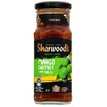 Sharwoods Green Label Mango Chutney Chilli scharf 360g