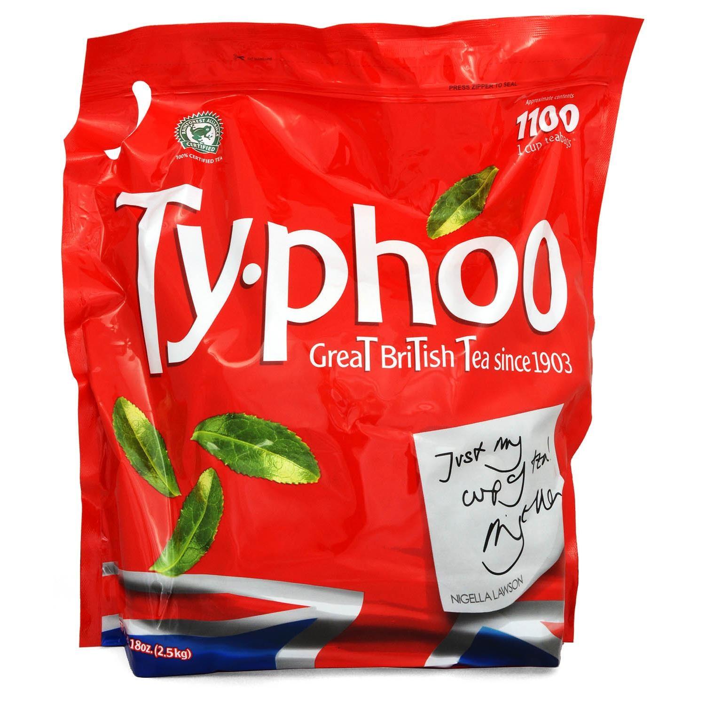 Typhoo Tea 1100 Tassen-Teebeutel - 2,5 kg - Schwarztee in Teebeuteln