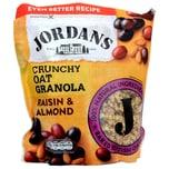 Jordans Granola Raisin & Almond Frühstücksflocken mit Rosinen & Mandeln 750g