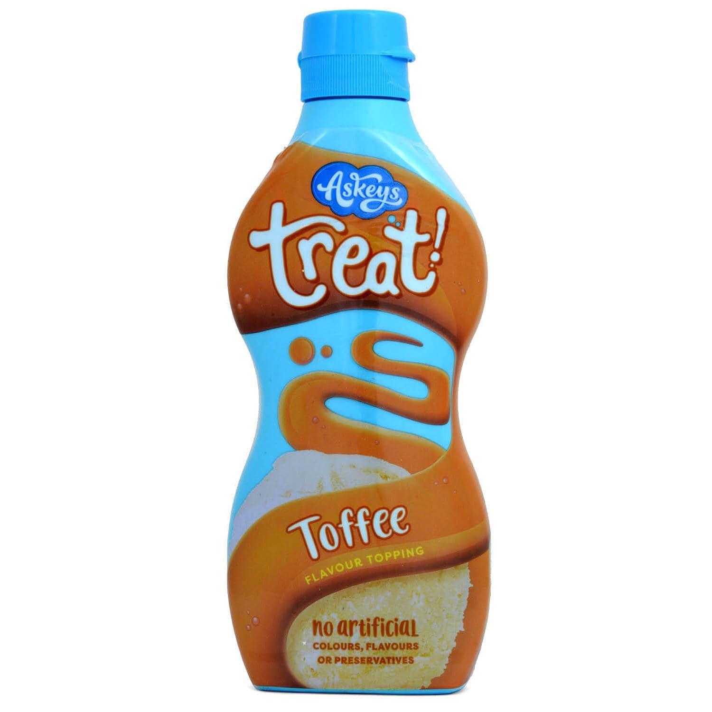 Askeys Treat! Toffee Flavour Topping 325g - Dessertsoße Toffee-Geschmack