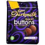 Cadbury Darkmilk Giant Buttons 90g Schokolinsen
