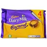 Cadbury Dairy Milk Caramel 4 Riegel 148g