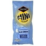 Jacobs Mini Cheddars Blue Cheese 6 x 25g Mini-Kekse Blauschimmelkäse-Geschmack