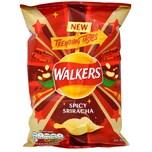Walkers Chips Spicy Sriracha, Tüte 32,5g