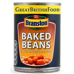 Branston Baked Beans 410 g - weiße Bohnen in Tomatensoße
