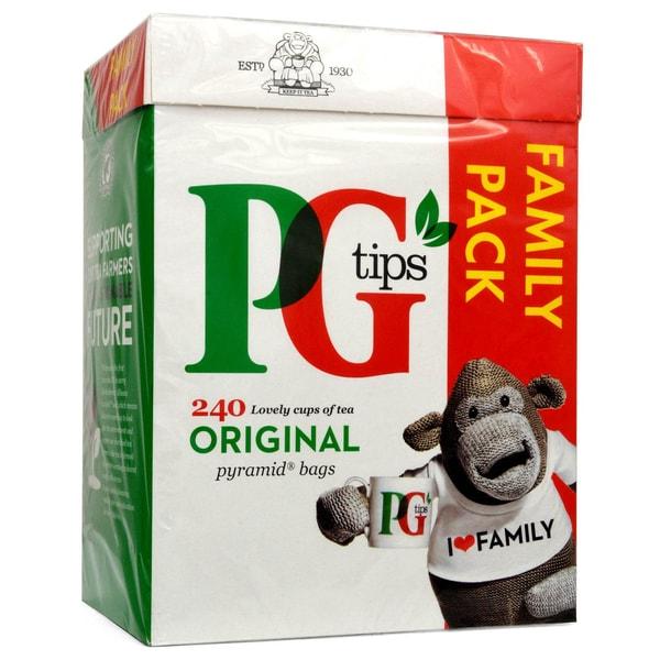 PG Tips Tee 240 Teebeutel - 696g - Schwarztee in Teebeuteln