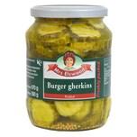 Mrs Elswood Pickled Burger Gherkins Essiggurken 670g