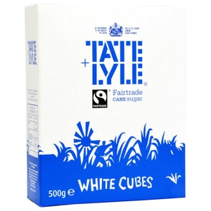 Tate+Lyle Weiße Zuckerwürfel für Tee - Würfelzucker zum Tee