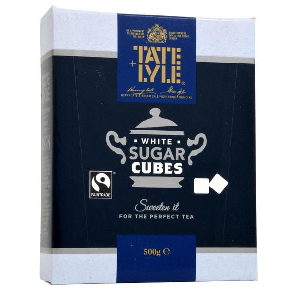 Tate+Lyle Weiße Zuckerwürfel für Tee Würfelzucker zum Tee