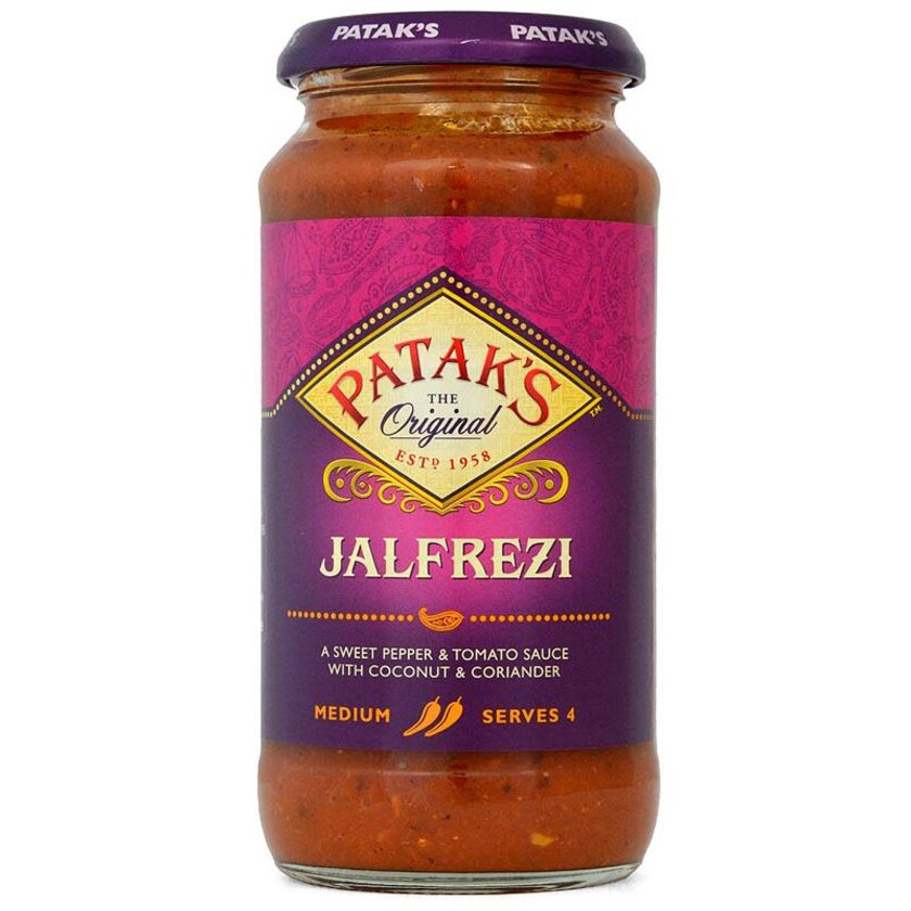 Pataks Jalfrezi Kochsoße Glas 450g
