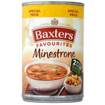Baxters Favourites Minestrone Soup Gemüsesuppe mit Nudeln 500g