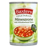Baxters Vegetarian Soup Minestrone with Pasta 400g - Gemüsesuppe mit Nudeln