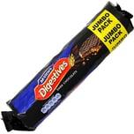 McVities Dark Chocolate Digestives Weizenschrotkekse mit Schokoladenüberzug 433g