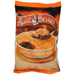 Aunt Bessies Tempting Golden Crumble Mix Streusel-Backmischung mit Haferflocken 400g