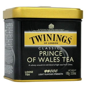 Twinings Prince of Wales Tee 100g Schwarztee, lose