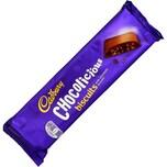 Cadbury Chocolicious Biscuits 110g mit Milchschokoladenüberzug