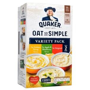 Quaker Oats So Simple Porridge Variety 9-pack Instant-Haferflocken-Sortiment