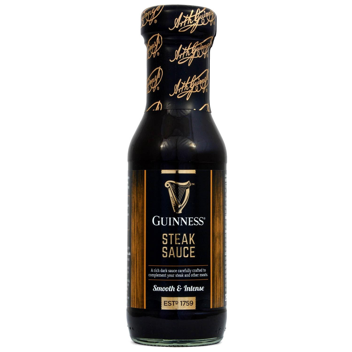Guinness Steak Sauce Smooth & Intense 295g - Steaksauce mit Bier