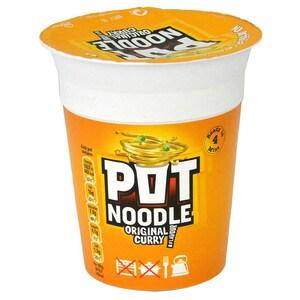 Pot Noodle Original Curry - Instant-Nudelgericht Curry-Geschmack