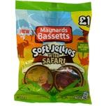 Maynards Bassetts Soft Jellies Wild Safari 160g