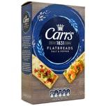Carrs Flatbreads Salt & Cracked Black Pepper 150g Knäckebrot