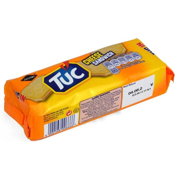 Tuc Cheese Sandwich Doppelkeks mit Käse-Füllung 150g