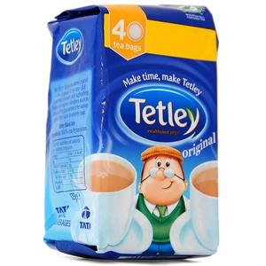 Tetley Tea 40 Teebeutel Schwarztee in Teebeuteln 125 g