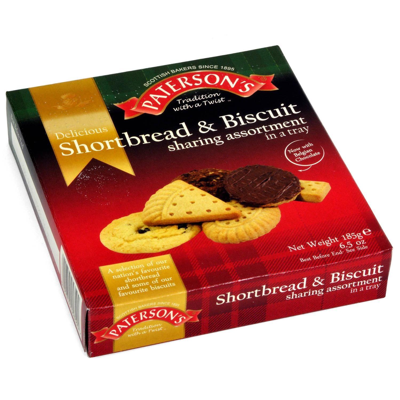 Patersons Shortbread & Biscuit Assortment - Keks-Sortiment