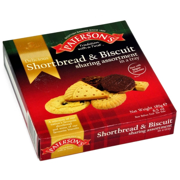 Patersons Shortbread & Biscuit Assortment - Keks-Sortiment