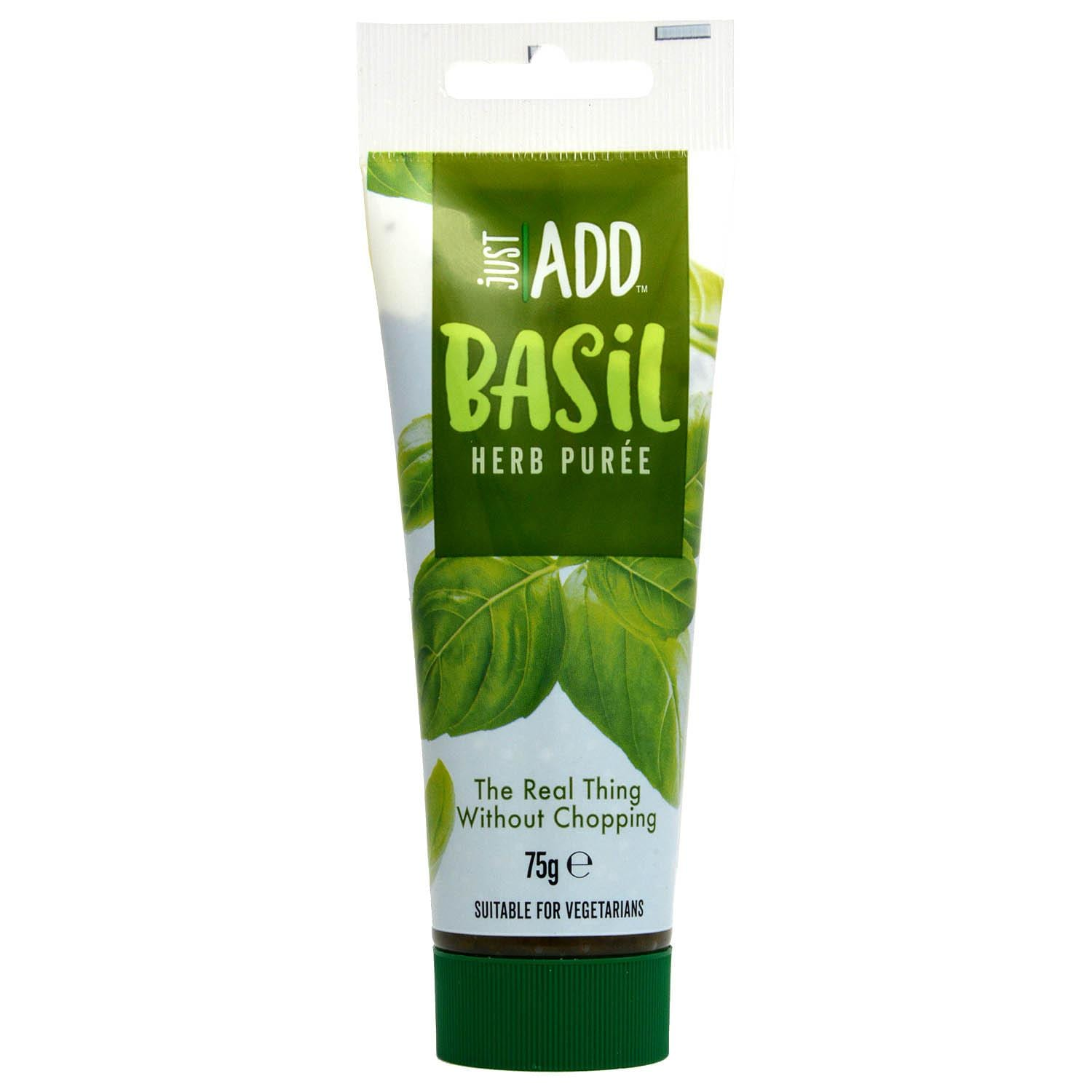 Just Add Basil 75g Basilikum in Sonnenblumenöl