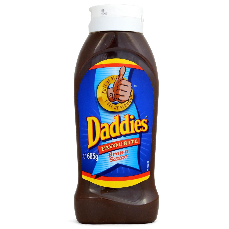 Daddies Favourite Brown Sauce Würzsoße 685g