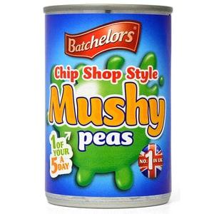 Batchelors Chip Shop Style Mushy Peas Matschig gekochte Erbsen 300g