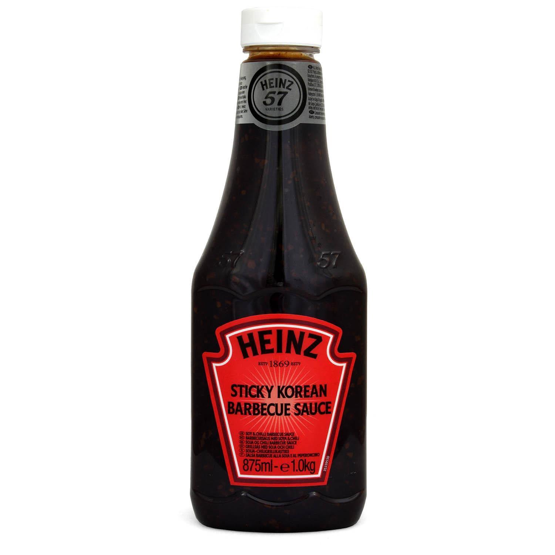 Heinz Sticky Korean BBQ Sauce 875ml - 1000g - Grillsauce
