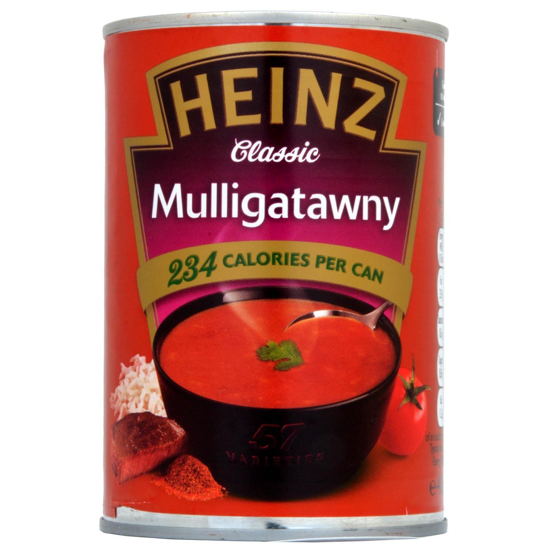 Heinz Classic Mulligatawny Beef Curry Soup 400g - Rindfleischsuppe mit Curry und Mango Chutney