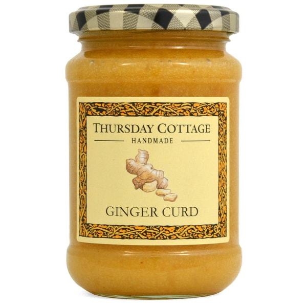 Thursday Cottage Ginger Curd Ingwer-Aufstrich mit Ei und Butter 310g