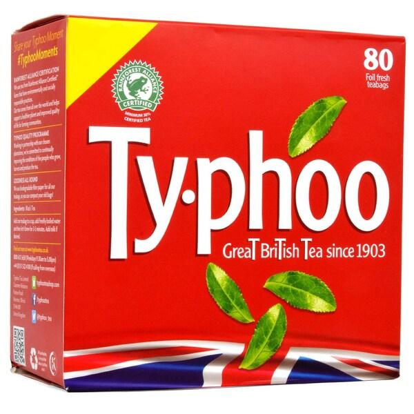 Typhoo Tea 80 Teebeutel - 232g - Schwarztee in Teebeuteln