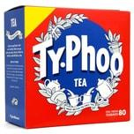 Typhoo Tea 80 Teebeutel Schwarztee in Teebeuteln 232g
