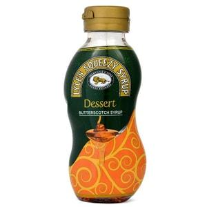 Lyles Squeezy Butterscotch Syrup - Dessertsoße Sahnebonbon-Geschmack