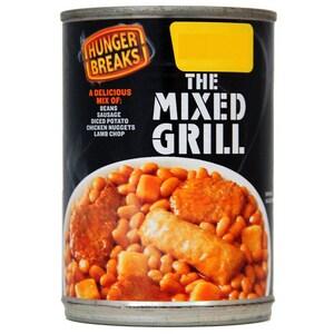 Hunger Breaks The Mixed Grill - Bohnengereicht mit Fleischerzeugnissen und Kartoffeln