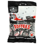 Walkers´ Nonsuch Liquorice Toffees 150g - Toffee Lakritz-Geschmack