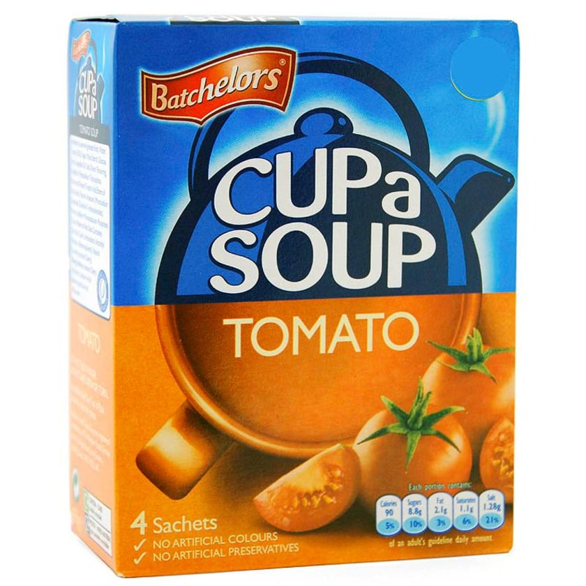 Batchelors Cup a Soup Tomato - Instant-Suppengericht, Tomatengeschmack