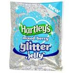Hartleys Mixed Berry Flavour Glitter Jelly 100g - Mix für Wackelpudding mit Glitter, versch. Beeren-Geschmack