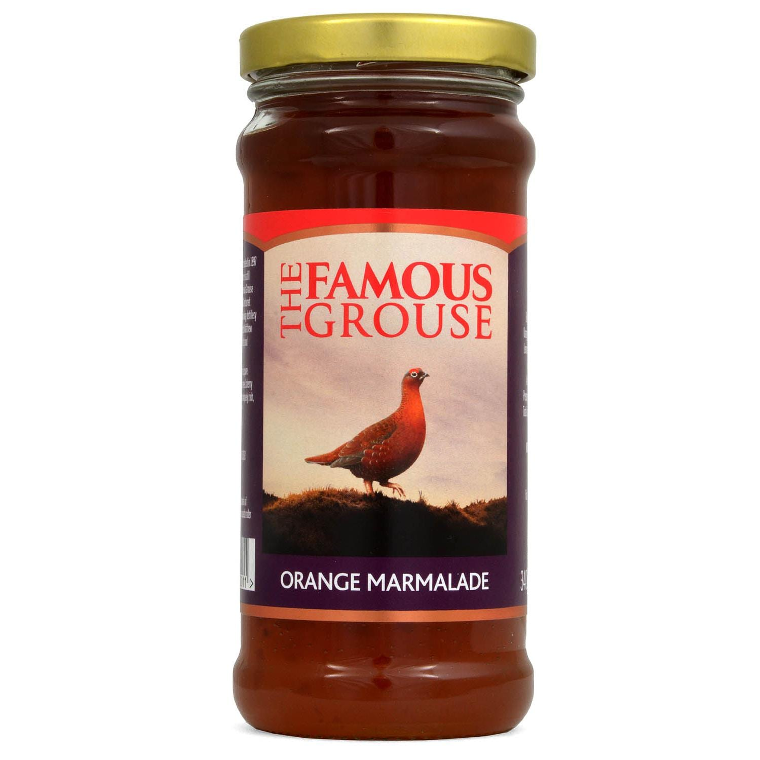 The Famous Grouse Orange Marmalade 340g - mit Highland Single Malt Whisky