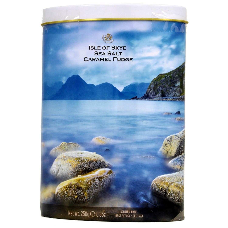 Gardiners of Scotland Sea Salt Caramel Fudge Tin - Weichkaramellen mit Salzgeschmack
